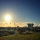 Solnedgang fra HavneBryggen Polaris